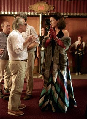 Martin Scorsese directs Kate Beckinsale in Miramax Films' The Aviator
