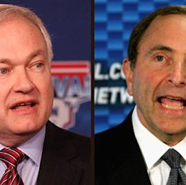 Don Fehr and Gary Bettman Getty Images