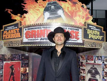 Robert Rodriguez , director, at the Los Angeles premiere of Dimension Films' Grindhouse