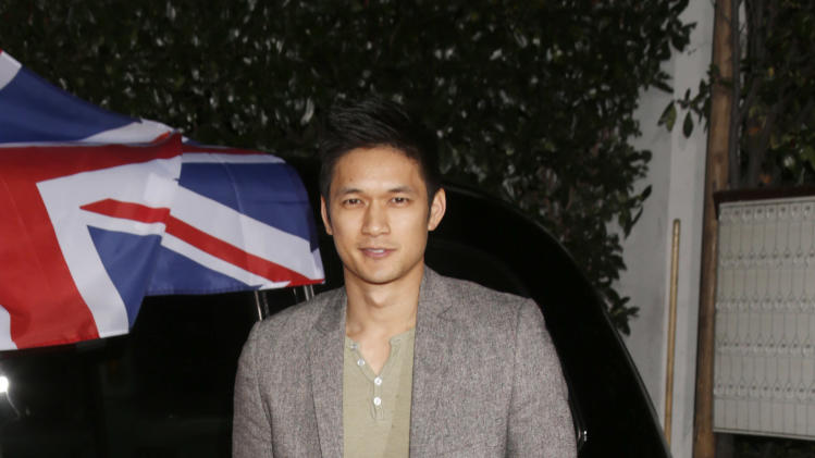Harry Shum Jr. attends the Topshop Topman LA Opening Party At Cecconi's in Los Angeles, on Wednesday, Feb. 13, 2013 in Los Angeles. (Photo by Todd Williamson/Invision for/AP)