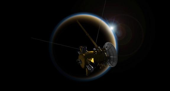 Saturn's Moon Titan Sheds Light on Hazy Alien Planets
