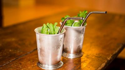 Mint Juleps To Sip NOW in Houston