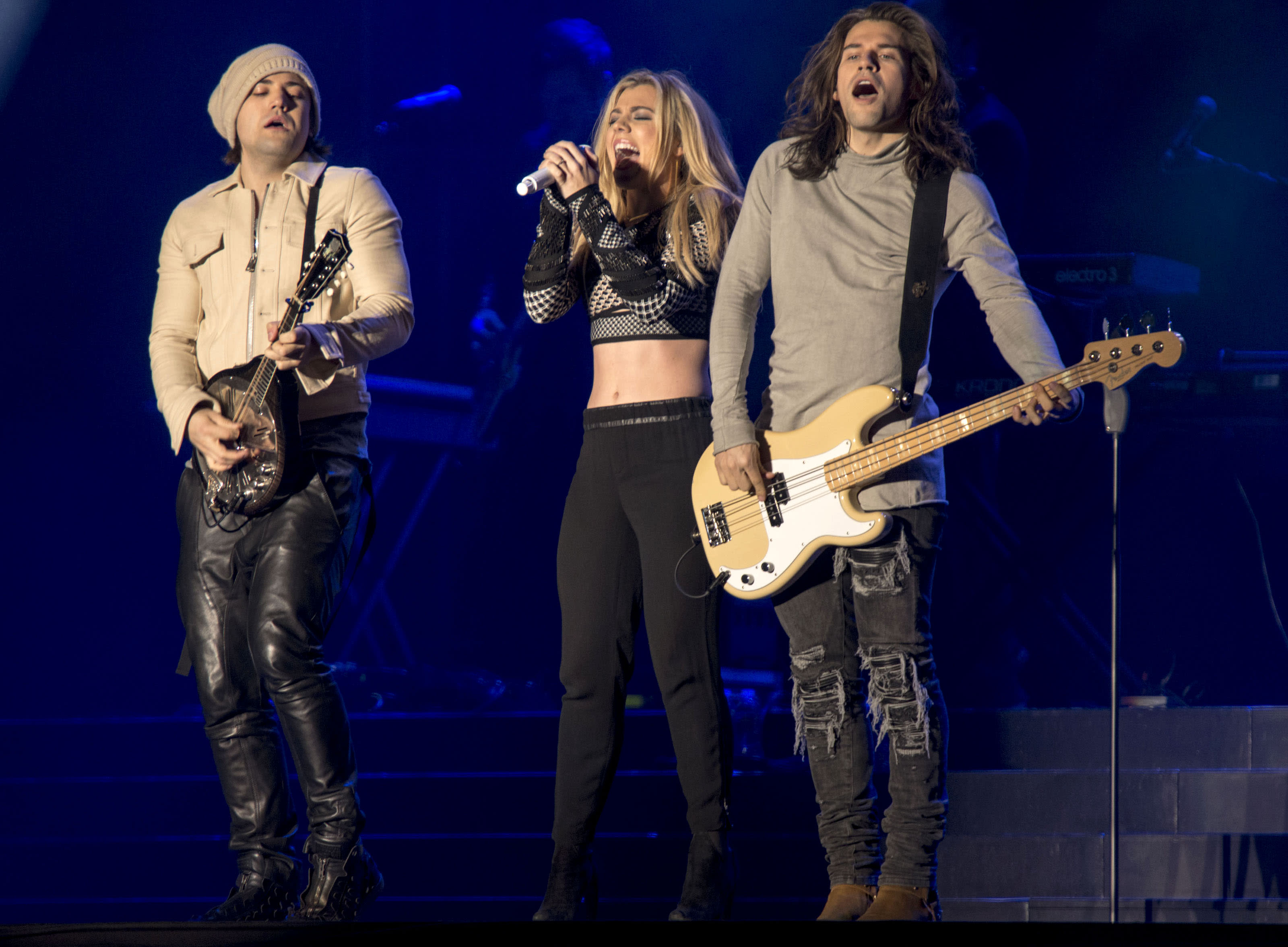 Band Perry on Denver Broncos, Lady Gaga and Grammys