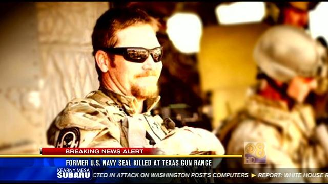 Former U.S. Navy SEAL killed at Texas gun range