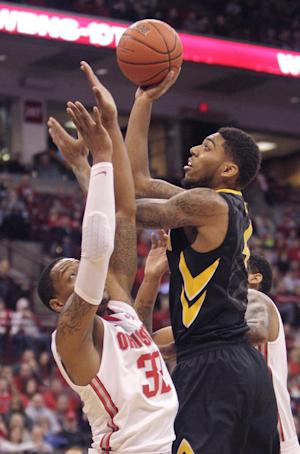 Marble's 22 lift No. 20 Iowa past No. 3 OSU, 84-74