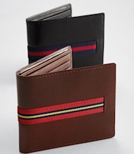 Smart Turnout leather wallet