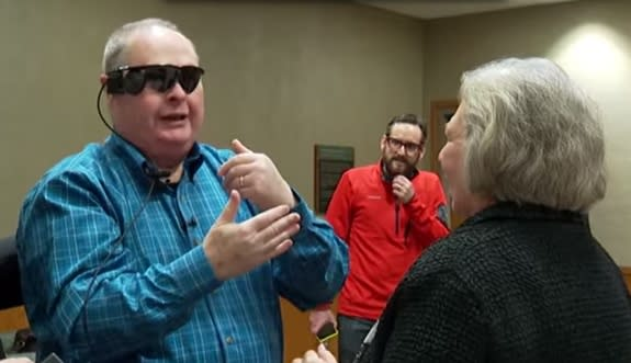 Bionic Eye Lets Blind Man See Again