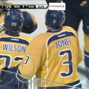 Colin Wilson Goal on Ray Emery (14:35/2nd)