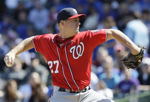 Samardzija, Cubs beat Nationals 4-3