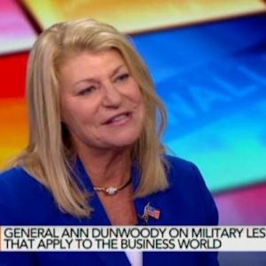 Career Advice From Four-Star Army Gen. Ann Dunwoody