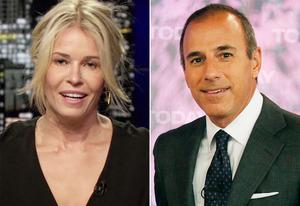 Chelsea Handler, Matt Lauer | Photo Credits: E!, Virginia Sherwood/NBC