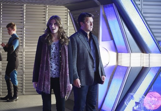 Exclusive Castle Video: Get a First Look at Rick and Kate's Meta-tastic Sci-Fi Adventure
