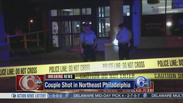 Couple gunned down near Rite Aid in Northeast Philadelphia