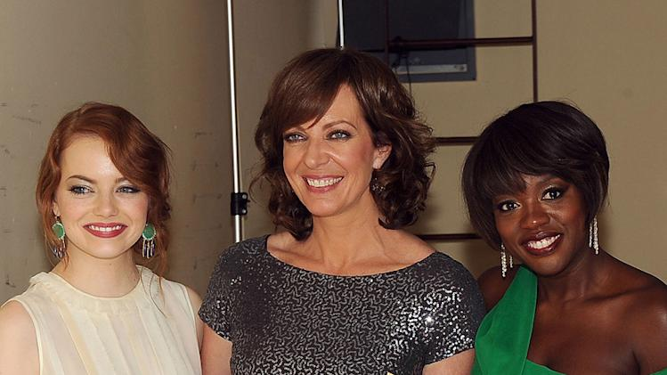 2011 Hollywood Film Awards Emma Stone Allison Janney Viola Davis