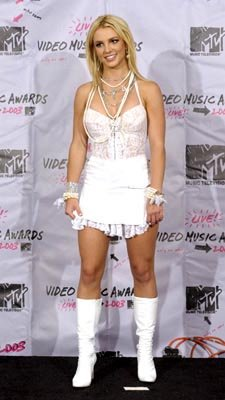 Britney Spears MTV Video Music Awards - 8/28/2003