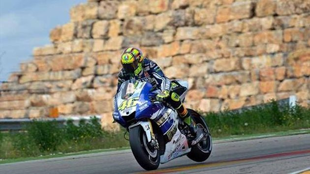 Rossi confirms braking improvement at Aragon