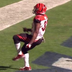 Cincinnati Bengals running back Jeremy Hill 2-yard touchdown run