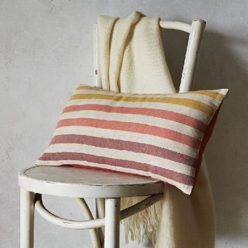 Happy Stripe Pillow