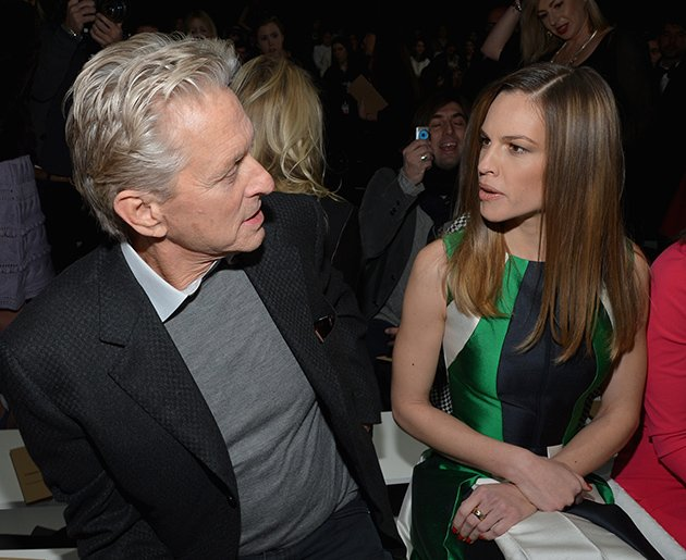 Michael Douglas, Hilary Swank