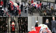 Baroness Thatcher's Funeral At St Paul's