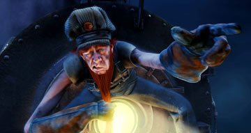 Smokey ( Michael Jeter ) in Warner Bros. The Polar Express