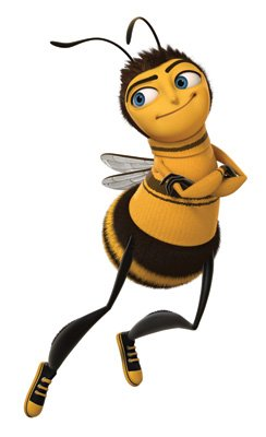 Barry B. Benson (voiced by Jerry Seinfeld ) in DreamWorks Pictures' Bee Movie