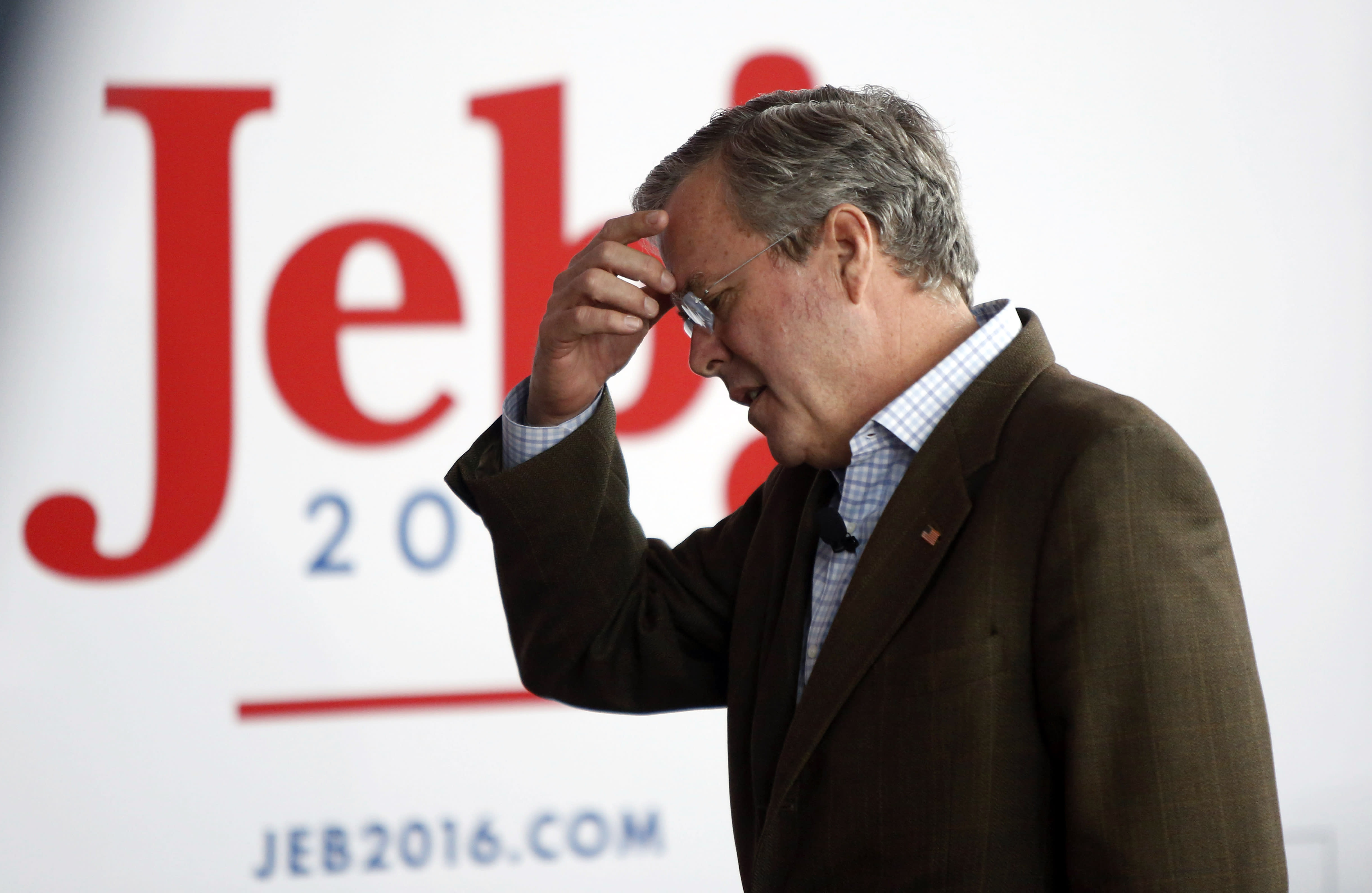 Bush spends millions on TV but has yet to rise in GOP race