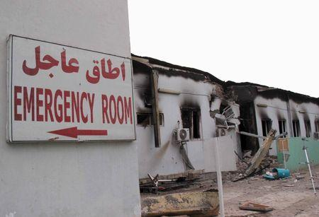 Report says combination of errors led to U.S. bombing of MSF hospital: NYT
