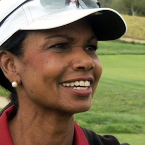 Condoleezza Rice talks politics, women, golf