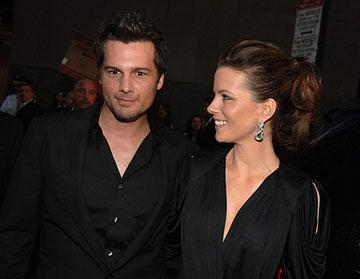 Director Len Wiseman and Kate Beckinsale at the New York premiere of 20th Century Fox's Live Free or Die Hard