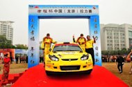 Proton gains double podium finish at Rally of China