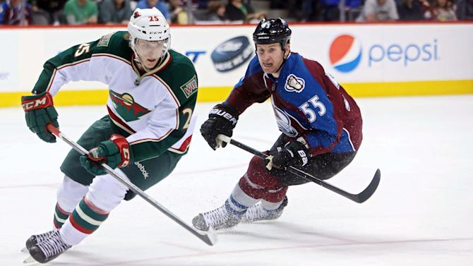 NHL: Minnesota Wild at Colorado Avalanche