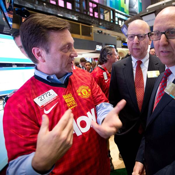 Manchester United Executives Ring Opening Bell At New York Stock Exchange Getty Images Getty Images Getty Images Getty Images Getty Images Getty Images Getty Images Getty Images Getty Images Getty Ima