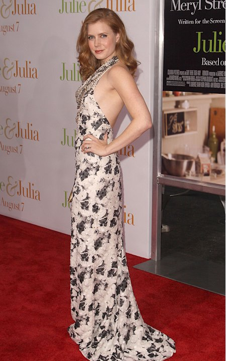 Julie and Julia NY Premiere 2009 AMy Adams