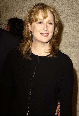 Meryl Streep at the LA premiere of Paramount Pictures and Miramax Films' The Hours