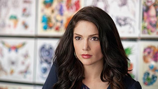 Janet Montgomery as Martina Garretti in 'Made in Jersey,' which airs Fridays at 9 PM on CBS in Fall 2012 -- CBS