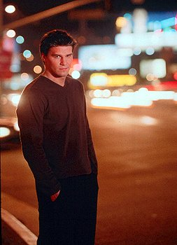 David Boreanaz as Angel in WB's Angel