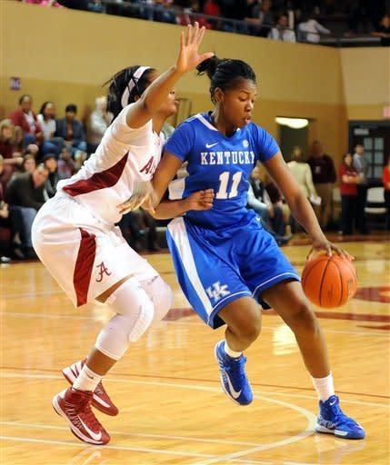 Stallworth helps No. 6 Kentucky women beat Alabama