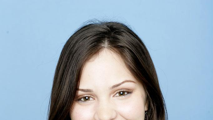 "Katharine McPhee from Sherman Oaks, CA, is one of the contestants on Season 5 of ""American Idol."""