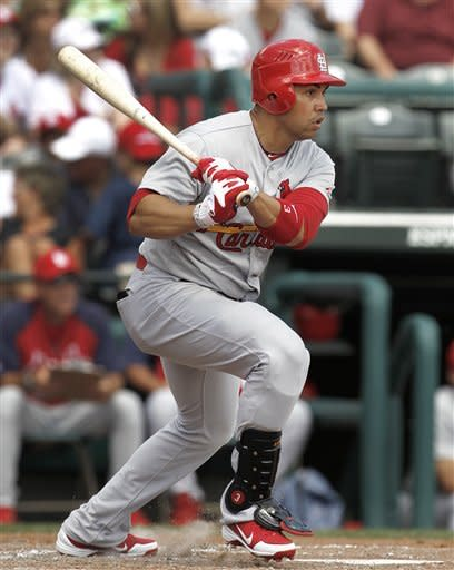 Beltran hits 1st HR for Cards in 4-3 win