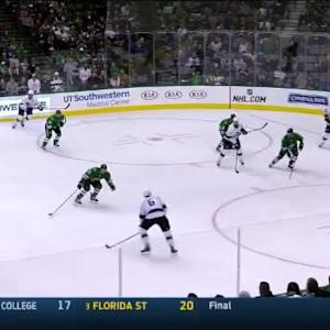 Kari Lehtonen Save on Jake Muzzin (07:13/1st)