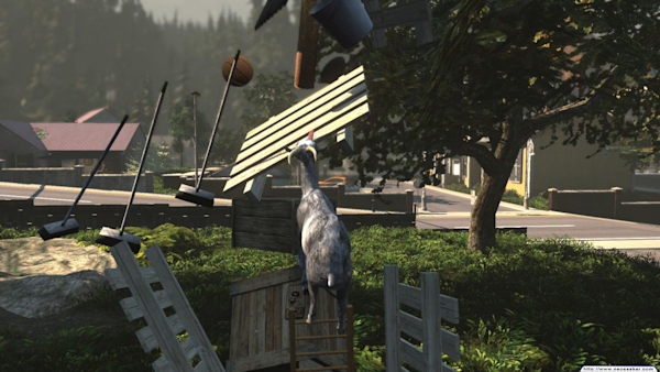 Goat Simulator Coming to Xbox One and Xbox 360 | View photo - Yahoo
