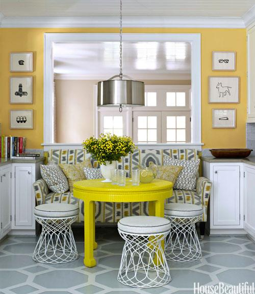Bright Kitchen Dining Area