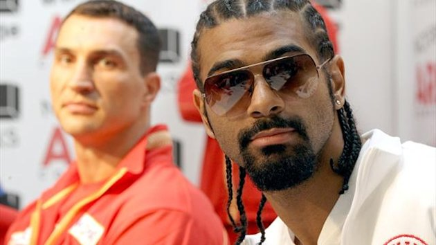 Boxing: David Haye, Great Britain