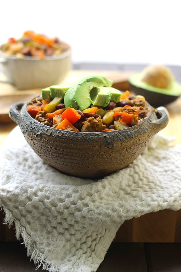 One pot dinenrs beef chili