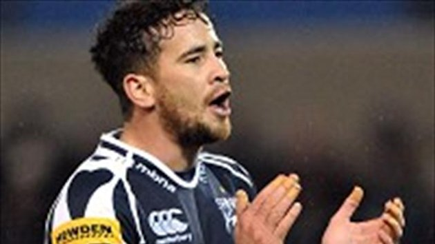 Danny Cipriani scored a try and kicked 16 points