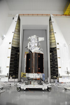 The Ball Aerospace, DigitalGlobe, Exelis and Lockheed Martin Commercial Launch Services team have successfully moved one step closer to launching the ...