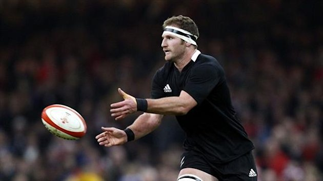 Kieran Read was among the try-scorers as New Zealand defeated France 26-19 at the Stade de France
