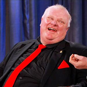 Toronto Mayor Rob Ford Grilled by Kimmel
