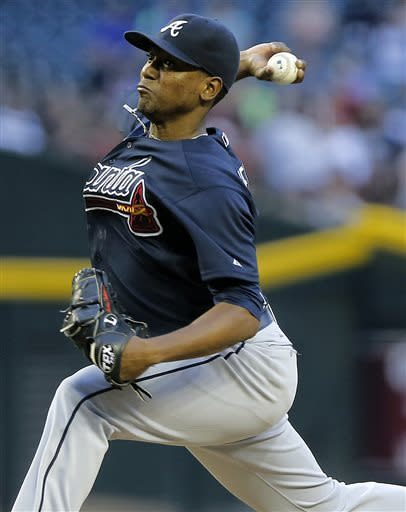 Corbin pitches Diamondbacks to 2-0 win over Braves